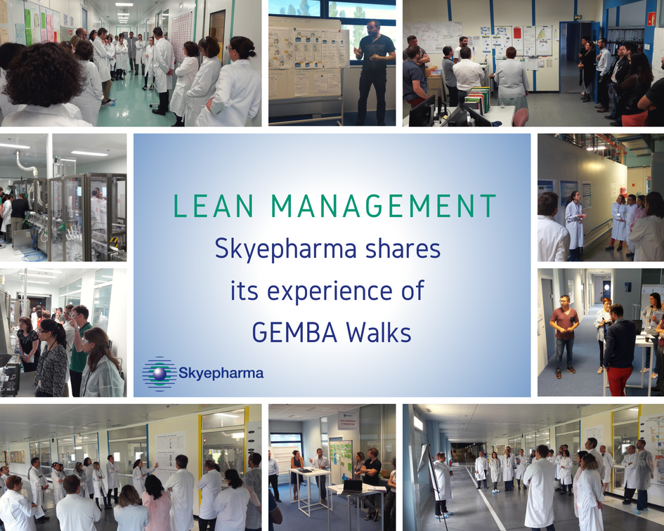 Skyepharma Lean management