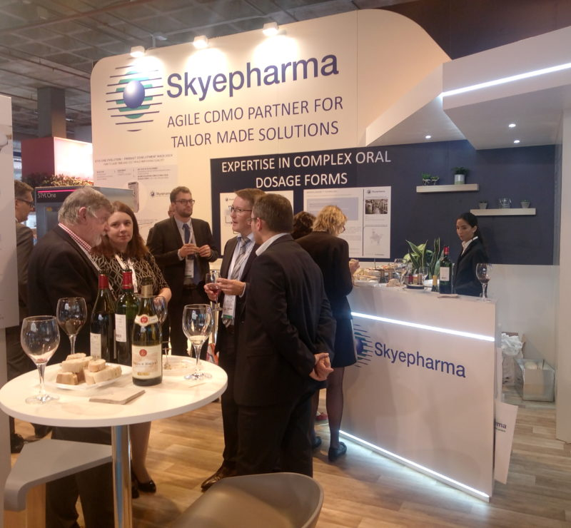 Skyepharma - wine & cheese event during CPhI Worldwide 2018