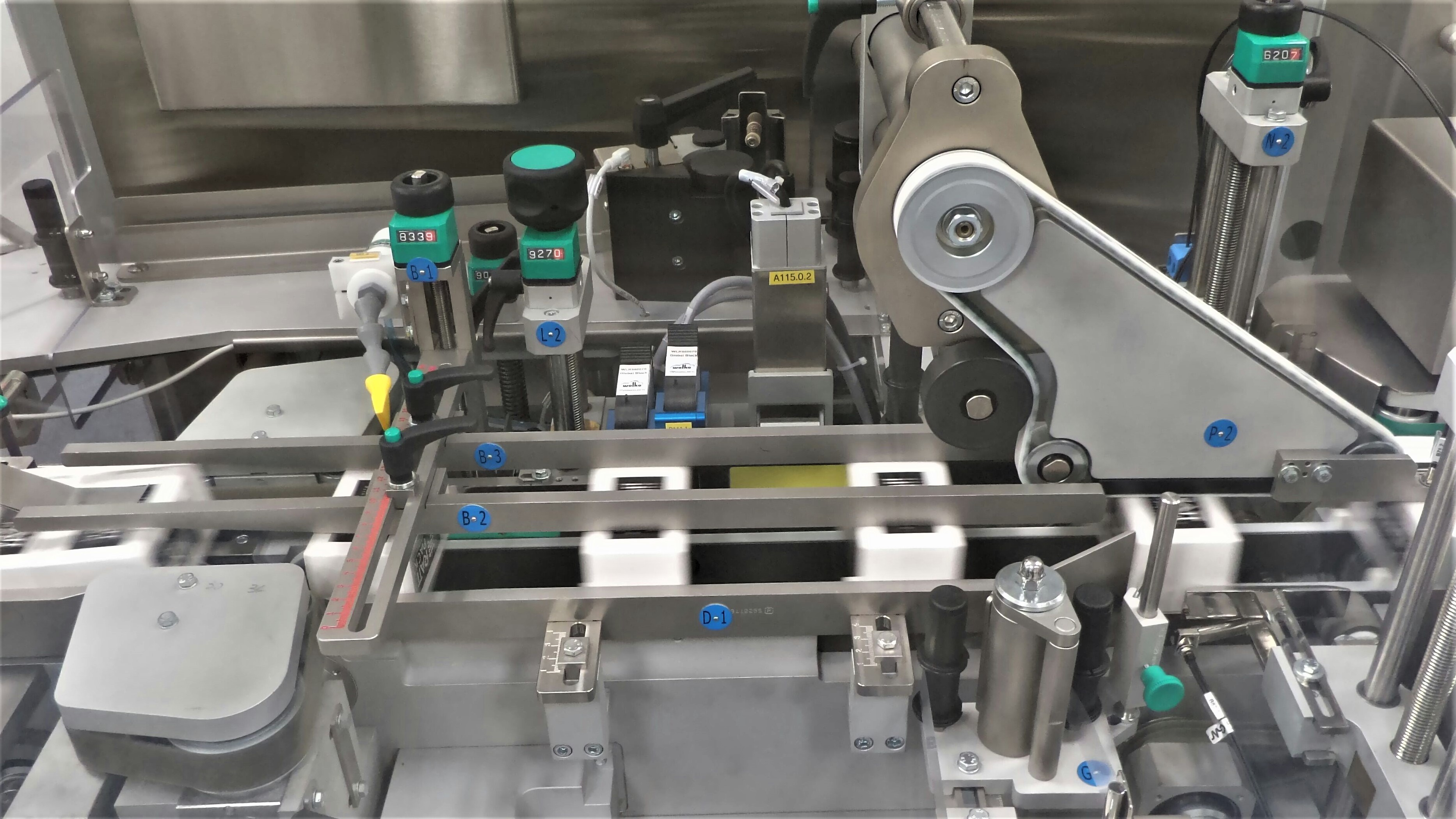 Skyepharma - serialization system on bottle packaging line