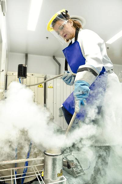 Skyepharma liquid nitrogen handling