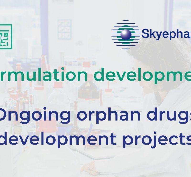 Orphan drug development projects Skyepharma