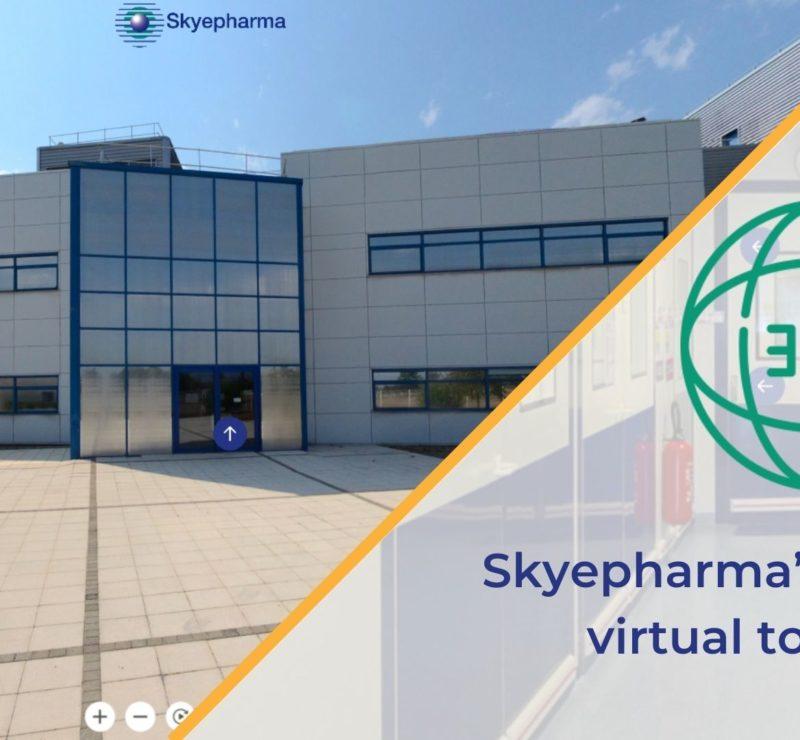 Skyepharma's 360° virtual tour